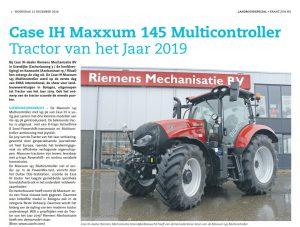 Riemens Mechanisatie redactie landbouwspecial dec 18