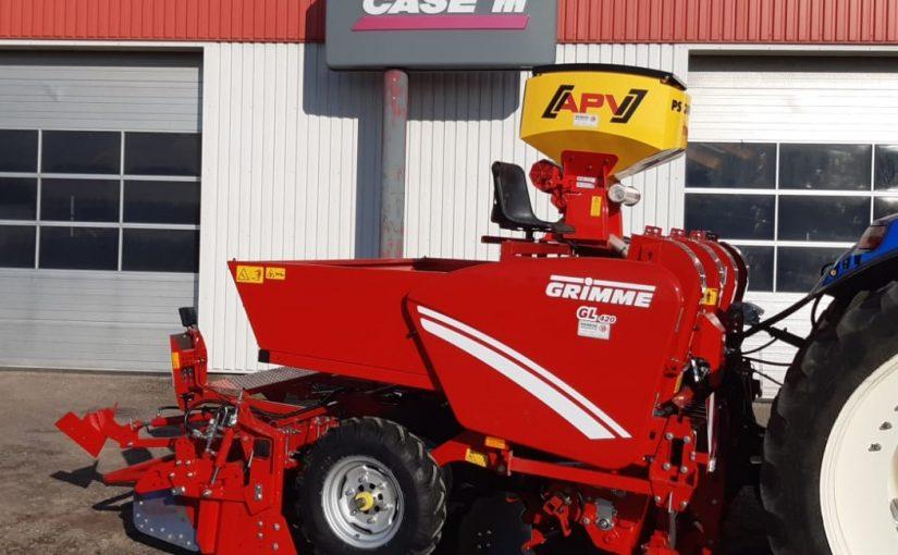 Recent afgeleverd Grimme GL420